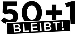 50plus1 logo