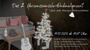 Sandys Herzenswünsche-Onlinekonzert: Weihnachtsedition